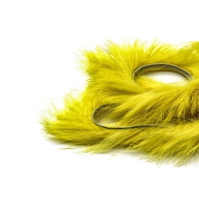 Zonker Rabbit 4mm yellow