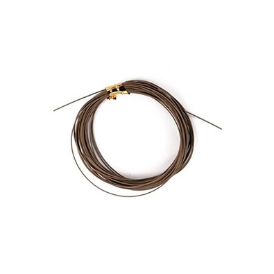 W49 Leader wire 20lb brown 5m
