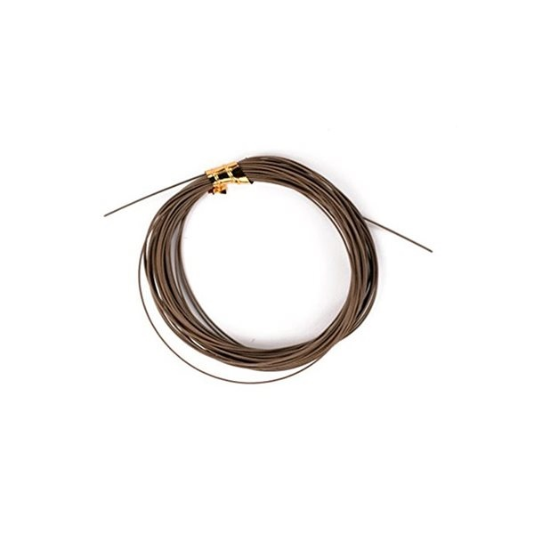 W49 - Leader Wire - 20lb - Brown - 5m