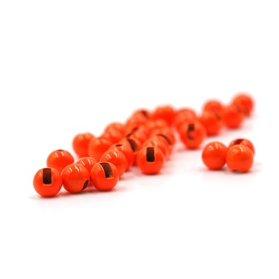 Palline Tungsteno Slotted - Fluo Orange - 20 pz.