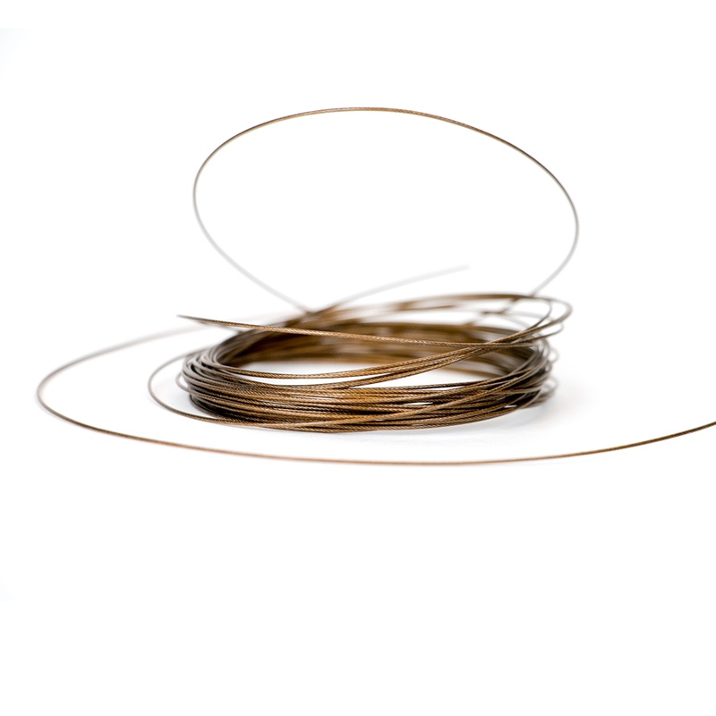 W49 - Leader Wire - 20lb - Brown - 5m alternate 7589