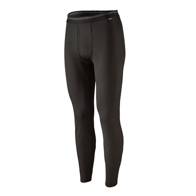 Patagonia Men's Capilene midweight bottoms - BLK Black