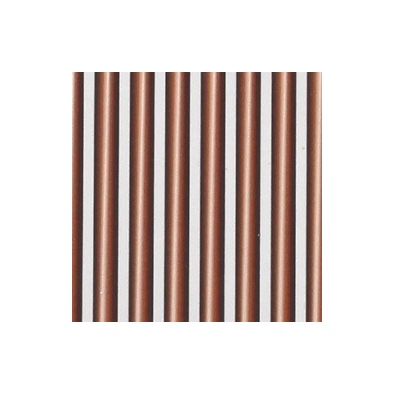 Synthetic Biot Tapered 180-Rusty Brown - 20 pcs.