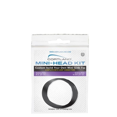 Cortland Mini-Head Kits - Dark Brown - 3,60 mt - Speed 6